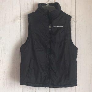 Weatherproof Black  Two Sided Zip up Vest